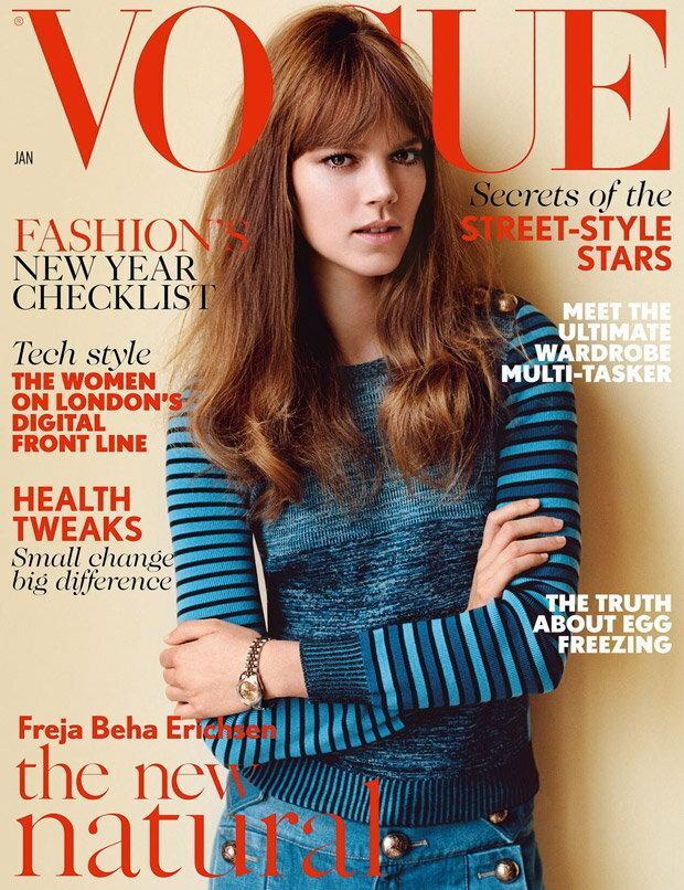 Vogue UK - styczeń 2015