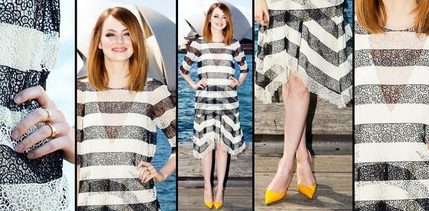 Best Look: Emma Stone w Chloe