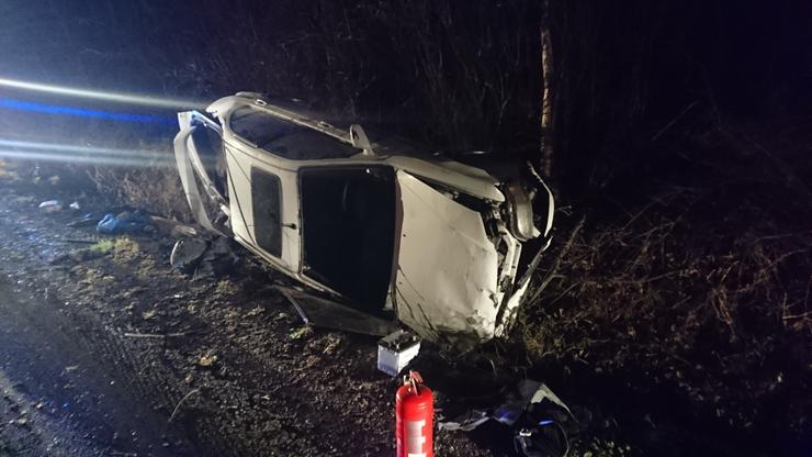 Egy másik baleset is történt nem sokkal később, szintén a 31-es főúton, de ez a 30-as kilométerkőnél /Fotó:Blikk