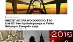 """""""ŠTA ĆE BITI S NAMA"""" Britansko NE uznemirilo i Balkan"""