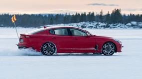 Kia Stinger: testy na śniegu i lodzie
