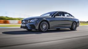 Nowy Mercedes klasy E – test na torze