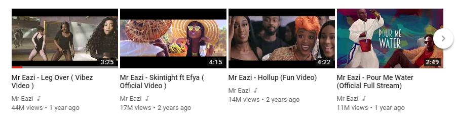 Mr Eazi top 4