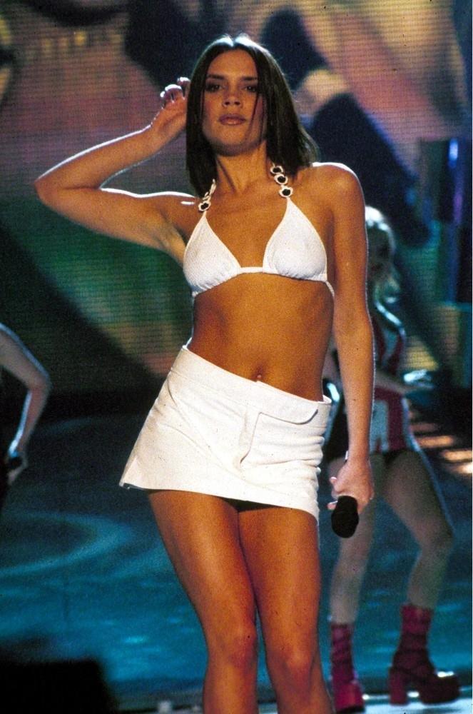 Victoria Beckham kiedyś a dziś