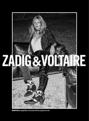 Małgosia Bela twarzą Zadig & Voltaire