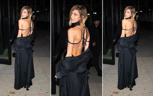 Best Look: Anja Rubik w sukience projektu Adama Selmana