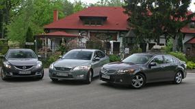 Ford Mondeo kontra Mazda 6 i Honda Accord: używane limuzyny dla rodziny