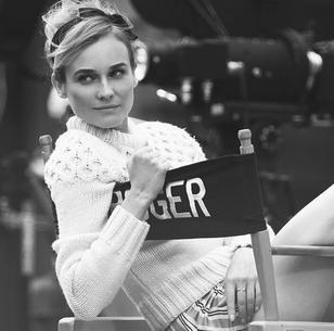"""Diane Kruger w wyjątkowej sesji dla """"Violet Grey"""""""