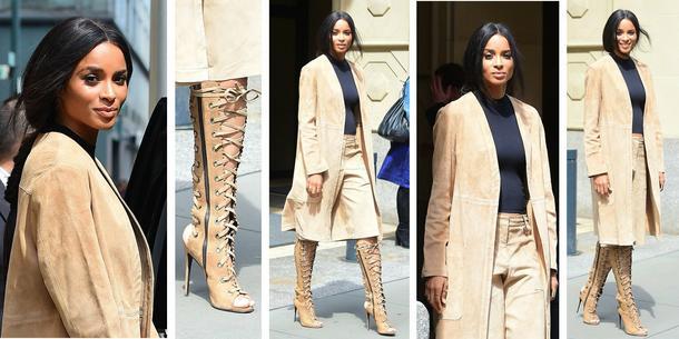 Best Look: Ciara w komplecie Theory