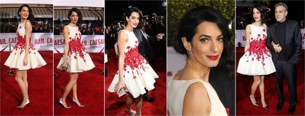 Best Look: Amal Clooney w sukni Giambattista Valli
