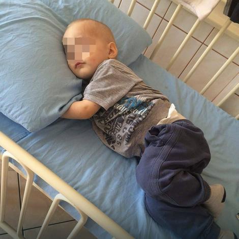 Mali bolesnik pati od povišenog šećera i glaukoma na oku, a imao je i nekoliko operacija bubrega