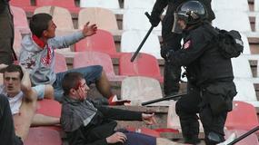 """FOTO GALERIJA Krvava tuča, """"delije"""" u klinču sa žandarmerijom"""