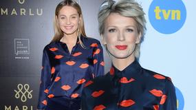 Pojedynek gwiazd: Małgorzata Socha czy Magdalena Mołek? Która z pań wygląda lepiej w tej samej stylizacji?