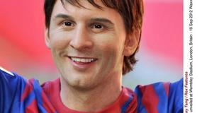 Woskowy Lionel Messi