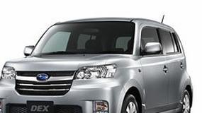 Subaru Dex: kolejny model z rodziny Daihatsu