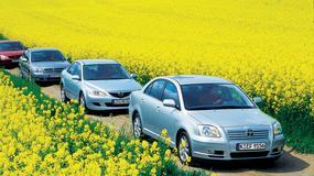 Liczmy nie tylko paliwo: Ford Mondeo II kontra Mazda 6, Opel Vectra C, Toyota Avensis II