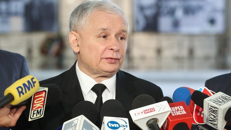 Jarosław Kaczyński, fot. PAP/Rafał Guz