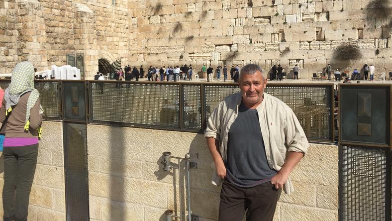 Gesztesi Károly Izraelből tér haza
