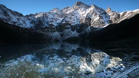 Śnieg w Tatrach. Trudne warunki  na szlakach turystycznych