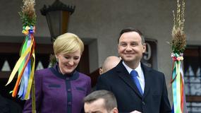 Para prezydencka na Niedzieli Palmowej w Lipnicy Murowanej