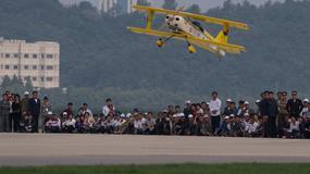 Pierwsze w historii publiczne pokazy lotnicze w Korei Północnej