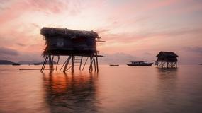 Morscy Cyganie z Borneo i ich wodny świat