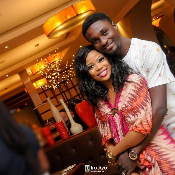 Adeniyi Johnson and Seyi Edun have been dating for a while now. They, however, sparked off break up rumours back in 2018, a report Seyi denied.