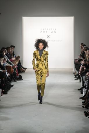 Pokaz kolekcji Patrizia Aryton x Dawid Tomaszewski podczas Berlin Fashion Week
