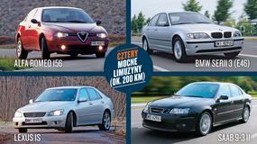 Alfa Romeo 156 kontra BMW serii 3, Lexus IS i Saab 9-3 - dużo radości za małą kasę