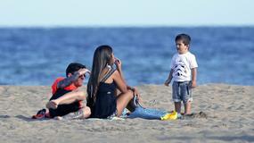 Tak wypoczywa Lionel Messi z rodziną