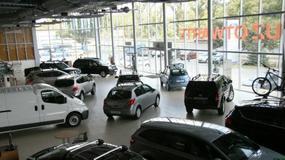Spadek sprzedaży aut w październiku