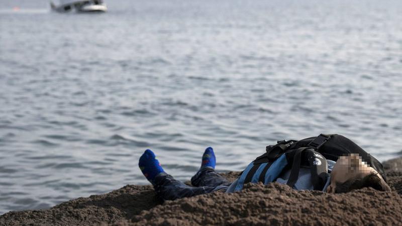 Szerencsétlenség a török parton / Fotó: MTI