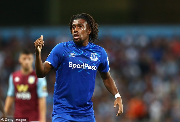 After a bright start, Alex Iwobi has been underwhelming at Everton (Getty Images)