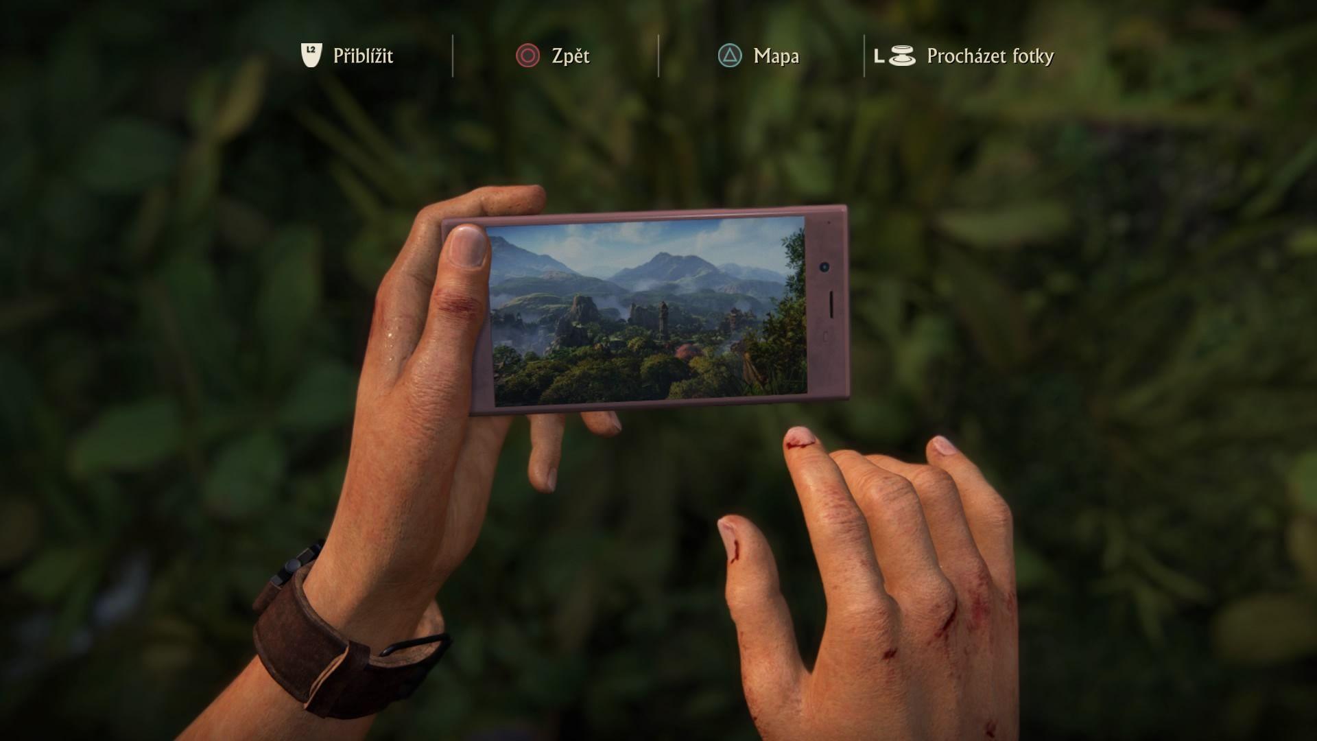 Chloe si svojím mobilom občas zdokumentuje zaujímavé situácie a výhľady