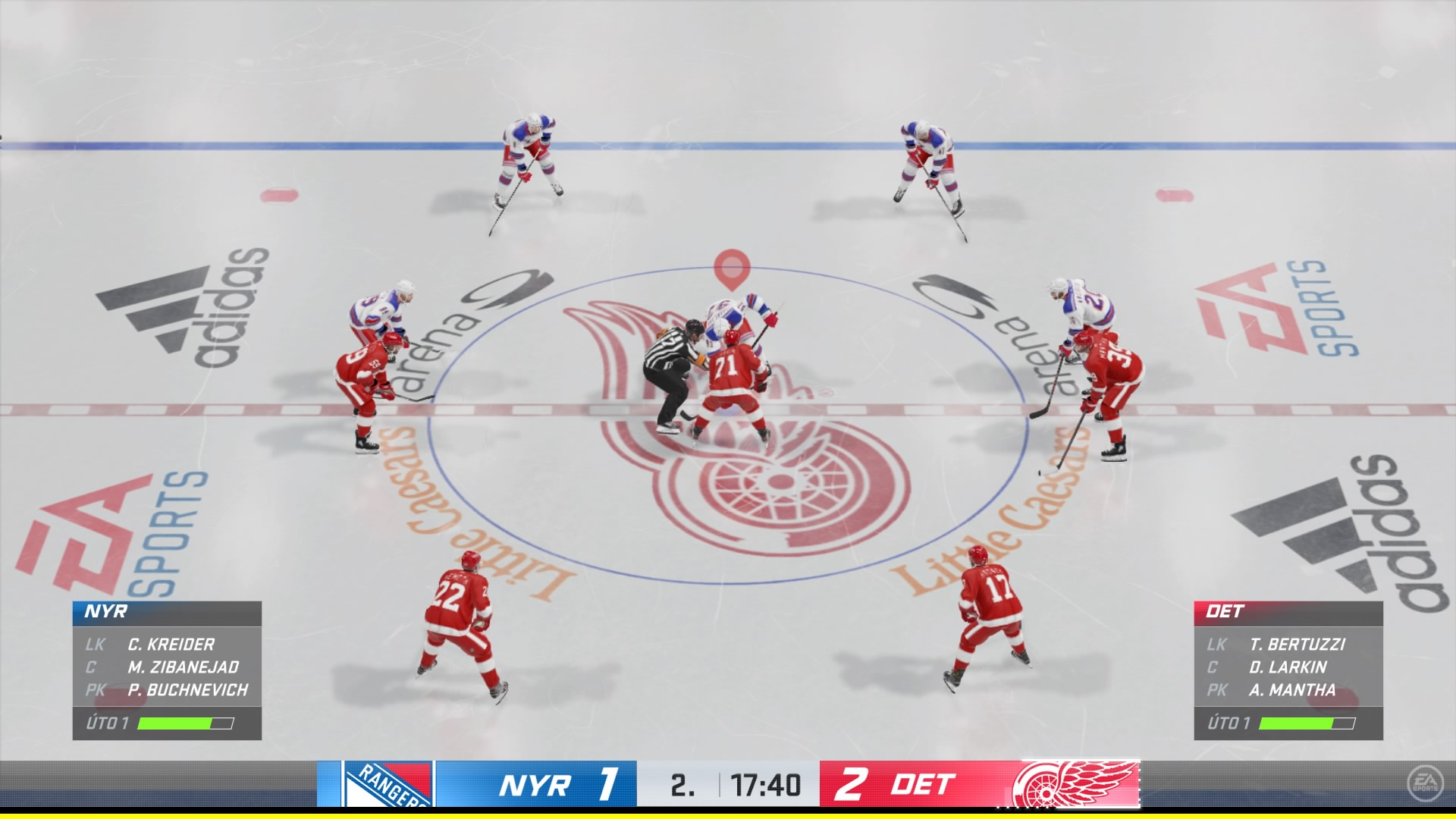 Po stránke hrateľnosti sa toho veľa nezmenilo. Stále však ide o skvelý zážitok z virtuálneho hokeja.