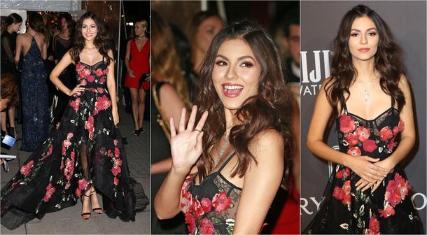 Best Look: Victoria Justice w sukni Marchesa