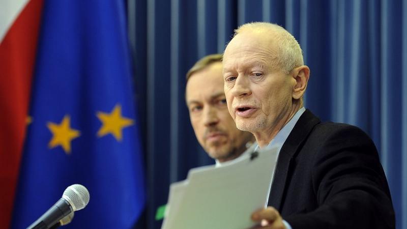 Szef MAC Michał Boni, fot. AFP