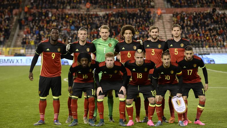 Mégis játszanak a belgák /Fotó: AFP