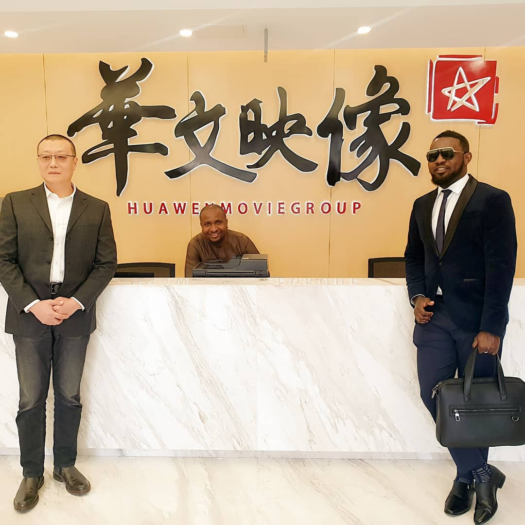 AY made history when he signed major deal with Chinese movie group to produce a cross cultural movie, '30 Days in China'. [Instagram/aycomedian]