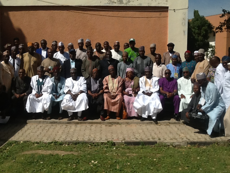 Participants at the 2019 Annual National Agricultural Extension Review Planing and Reviewing meeting in Zaria (NAN)