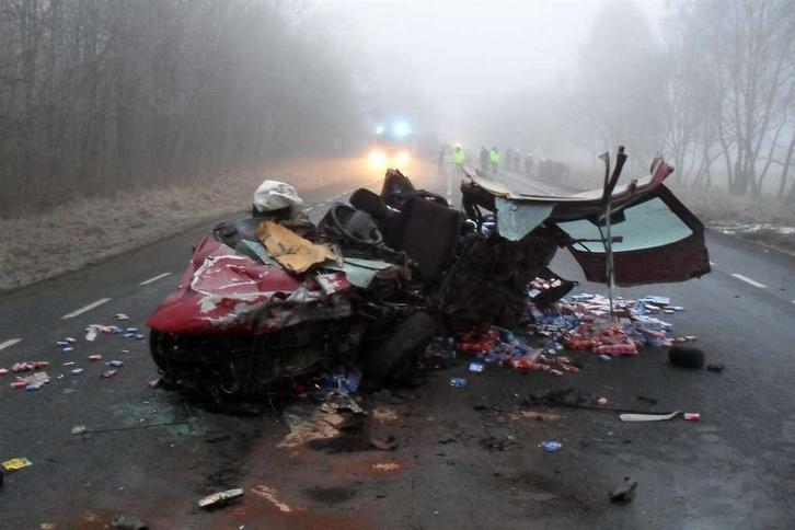 Tragedia w drodze na pogrzeb. DRASTYCZNE FOTO