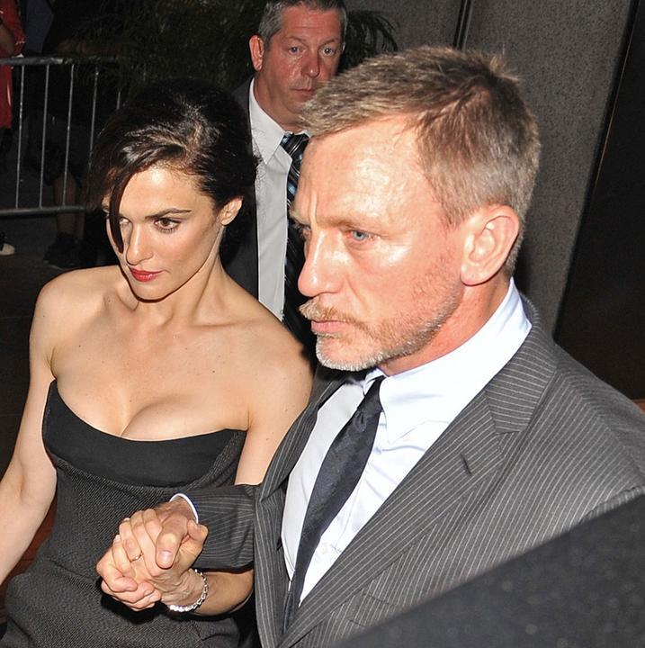 Daniel Craig i Rachel ...