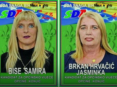 Kandidatkinje SDA za Opštinsko veće u Konjicu