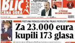 """""""Blic Crna Gora"""": Baranin izrešetan iz zasede pošto je izašao iz zatvora"""