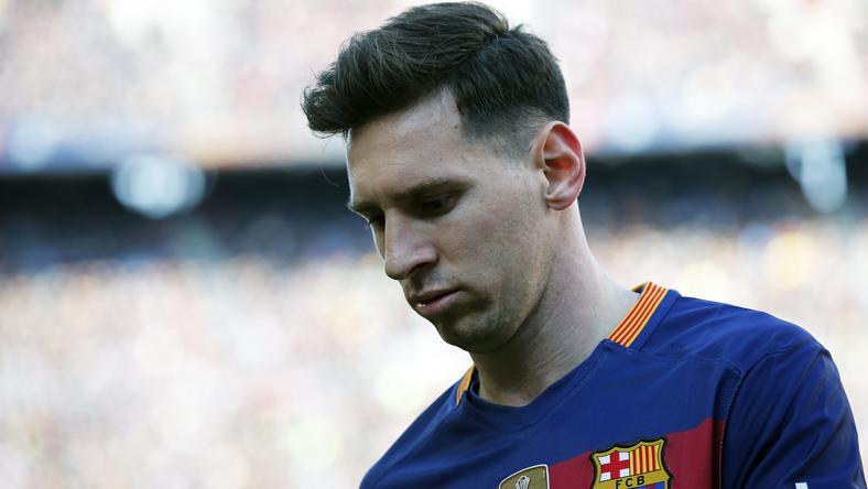 Messi sérülést okozott egy drukkernek/Fotó: AFP