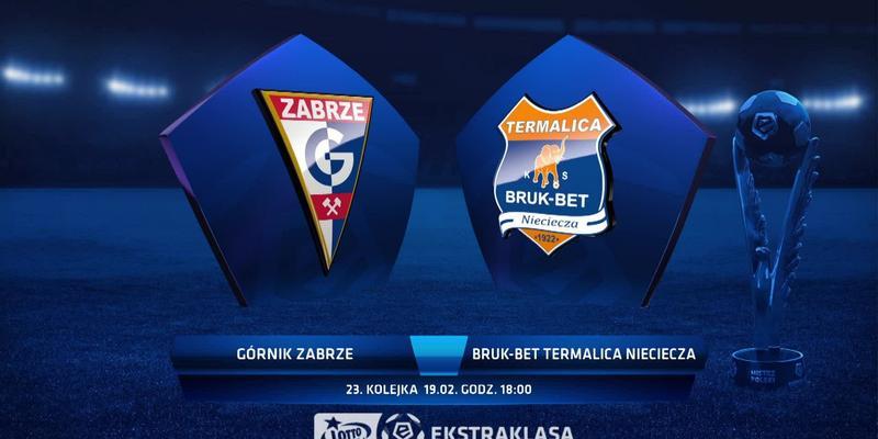 Górnik Z. - Bruk-Bet (3:0): zobacz skrót meczu