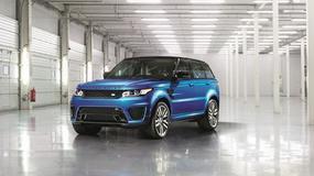 Range Rover Sport SVR jak rakieta