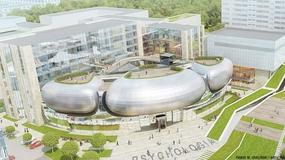 Futurystyczny kampus uniwersytetu