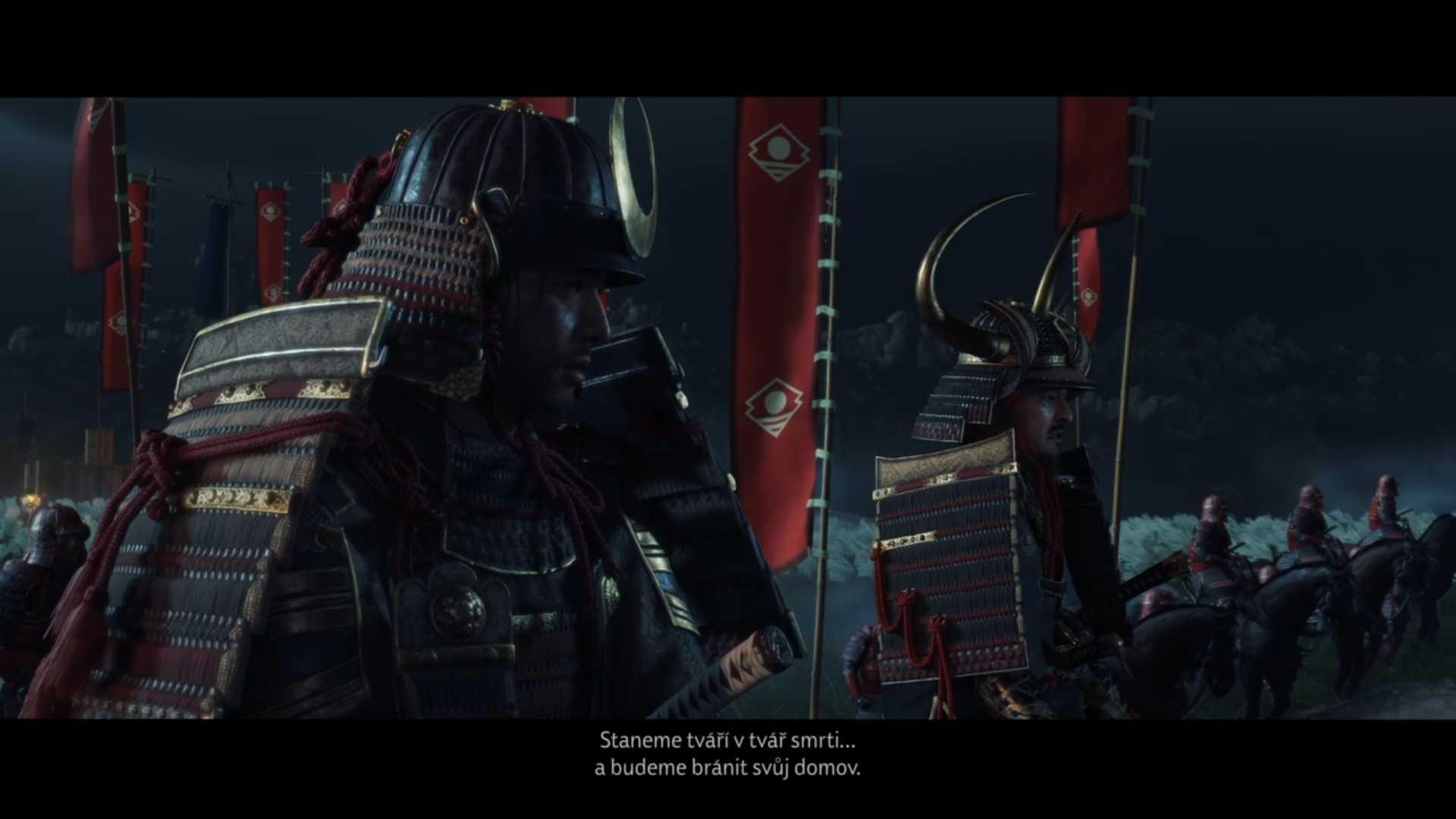 Samuraji sa postavia Mongolom už v úvode hry. Konfrontácia však nedopadne v ich prospech.