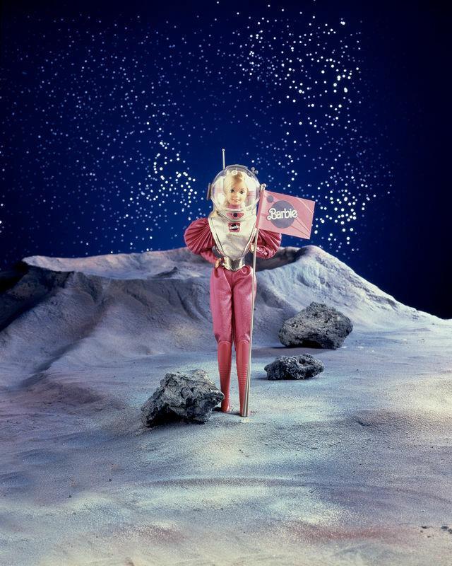 Barbie jako astronautka